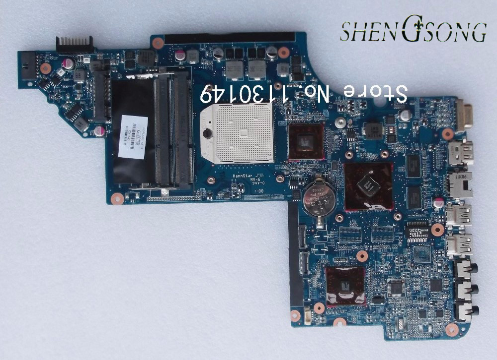 Free shipping! Laptop motherboard 640451-001 642528 644643-001 for HP DV6 DV6-6000 motherboard DDR3 working perfect 744008 001 744008 601 744008 501 for hp laptop motherboard 640 g1 650 g1 motherboard 100% tested 60 days warranty