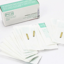 100 pcs PCD 12 Pin Permanent Makeup 3D Eyebrow Tatoo Blade Microblading Needles