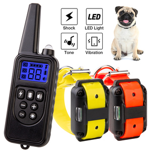Image 1 - 800m Electric Dog Training Collar Pet Remote Control Waterproof Rechargeable with LCD Display for All Size Shock Vibration Sound