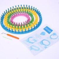 4 Size Classical Round Circle Hat Knitter Knitting Knit Loom Kit 1 Wool Yarn Needle