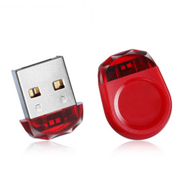 USB Flash Drive 128GB Pen drive 32GB 8GB impermeable botón mini modelo Pendrive 64GB 16GB de memoria Flash USB tarjeta usb 2,0 Stick