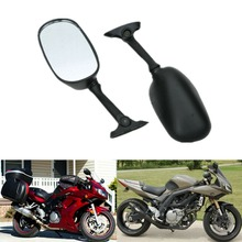 Pair Rear View Mirror For SUZUKI GSXR1000 2003-2004 GSXR 600 GSX-R750 2004-2005 цены онлайн
