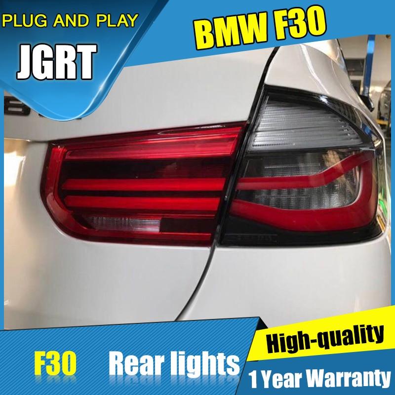 4PCS Car Styling for BMW F35 F30 318i 318Li 320i Tail Lights 2013-2017 for M3 LED Tail Lamp+Turn Signal+Brake+Reverse LED light car styling tail lights case for subaru xv 2013 2016 taillights led tail lamp rear trunk lamp cover drl signal brake reverse