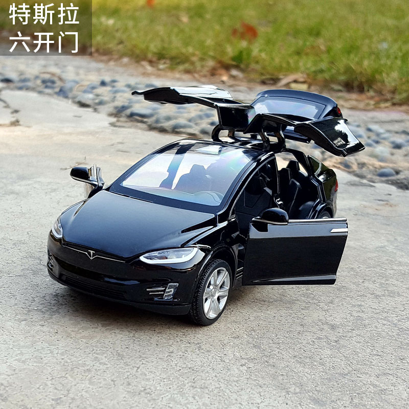 Νέο 1:32 J & CLIFE Tesla Μοντέλο Μοντέλο - Οχήματα παιχνιδιών - Φωτογραφία 5