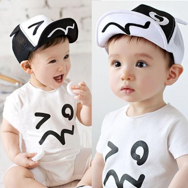ec6857d7294d Cute Kids Baby Baseball Hat Summer Girls Boys Wave Rivet Outdoor Baseball  Sun Hat Sunshade Cap Child Sunscreen Hat Visors 1-3Y