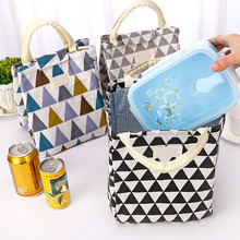 Модная изолированная сумка для ланча, бутылочка для кормления молока, Термосумка, переносная сумка для кормления мам