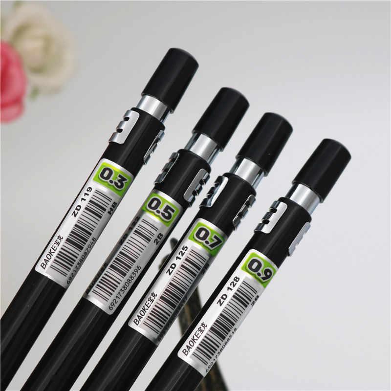 Hoge Kwaliteit Full Metal ZD125 Vulpotlood 0.3 0.5 0.7 0.9mm Professionele tekening ontwerp schilderen Automatische potlood