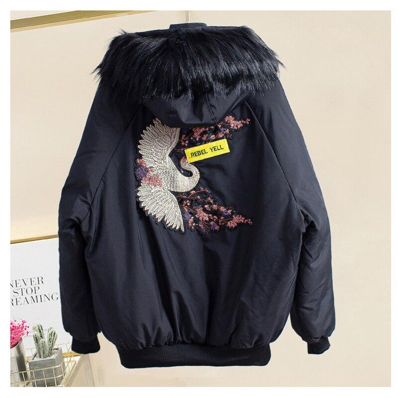 Survêtement Beige Plus Capuchon Vêtements black Femmes À 2018 Parka D'hiver Mf61 Manteau Paragraphe Hiver Taille Vers Coton La green Veste Court Le Bas PUwRTzzq