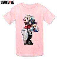 Suicide Squad Children S T Shirt Tshirt 2018 Harley Infant Cotton Crew Neck Kid Toddler Garment