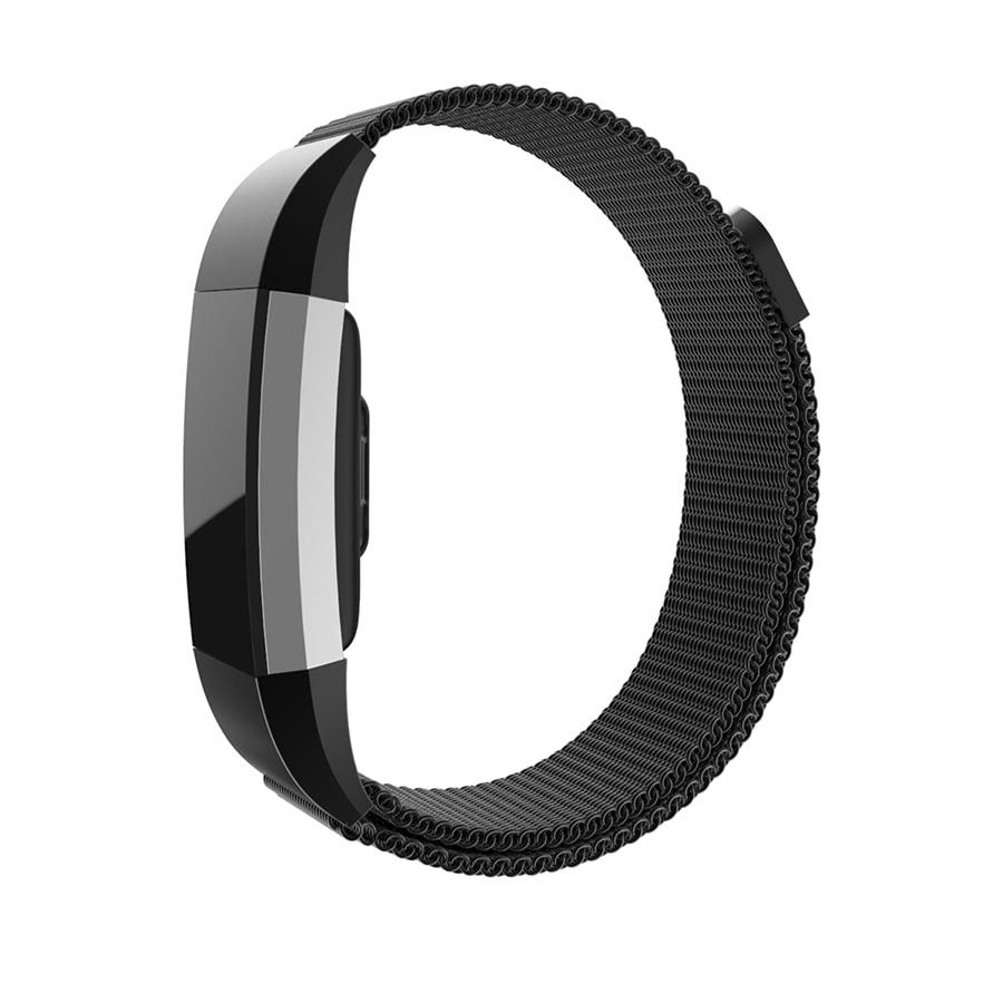 Yeni Milanese Döngü Bant Fitbit Şarj 2 için Kayış Paslanmaz Çelik Manyetik Watchband Fitbit Şarj 2 için Yedek Bilezik