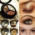 3 Colors Natural Smoky Eyeshadow Makeup Cosmetic Eye Shadow Palette Set Tool Wholesale Worldwide