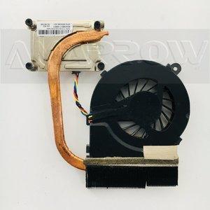 Original new for HP 1000 2000 CQ45 450 250 laptop cooling heatsink with fan 685086-001 6043B0116801(China)