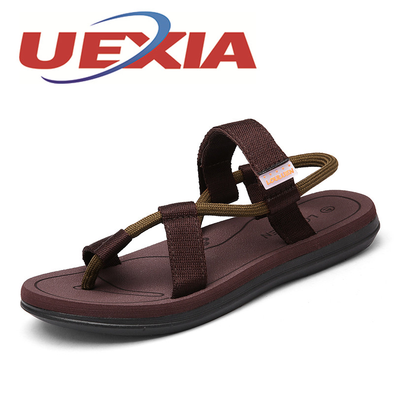 Plus Size 45 Sandals Men Outdoor Fashion Beach Shoes Lovers Casual Breathable Sandalias Mujer Summer Slip On Shoes Flip Flops zapatos mujer black red summer sweet bowtie flat sandals slip toe beach sandals butterfly knot flat sandals shoes plus size 44