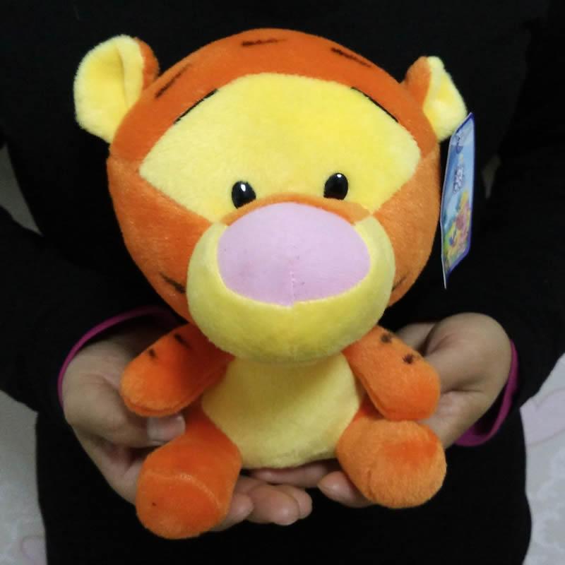 Сидя высота 18 см = 7.1 тигра версии Тигр Мягкие плюшевые игрушки животных куклы подарки на день рождения для ребенка