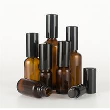 5ml-100ml essential oil spray bottle Brown shades of glass Cosmetics Sub-bottle with pure dew toner small spray bottle BQ085 цены онлайн