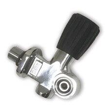 AC951 Acecare צלילה/צלילה/חמצן/אוויר טנק/צילינדר/ציוד ראש שסתום G/8 M18 * 1.5 עבור צלילה Arpon מתחת למים ציד