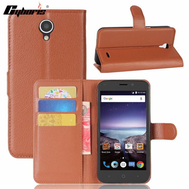 Cyboris For ZTE Prestige 2 N9136 Cover Luxury PU Leather Phone Case For ZTE Prestige 2 N9 Flip Protective Back Cover Card Holder