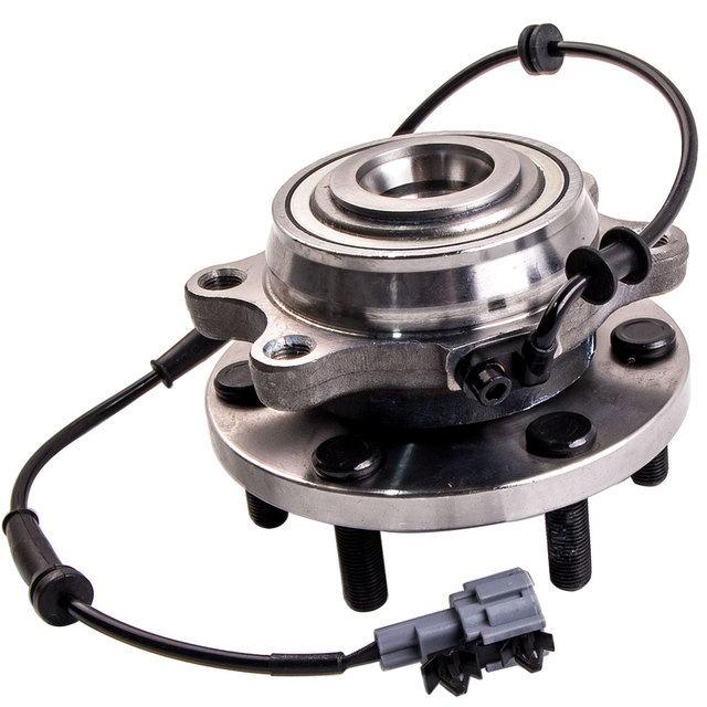 US $60 19 10% OFF|FRONT WHEEL BEARING HUB For NISSAN NAVARA 4WD D22 D40  YD25 / VQ40 ABS AMD-in Wheel Hubs & Bearings from Automobiles & Motorcycles  on