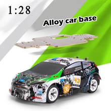Mobil RC Wltoys K989 1/28 Mini 4WD Off Road RC Brushed Rally Car Rtr Paduan Struktur Chassis(China)