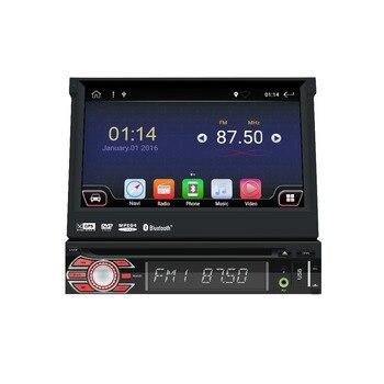 Universal 1 din reproductor de DVD del coche de Android 9,0 Quad Core GPS Wifi BT Radio BT 2 GB RAM 32 GB SD 16 GB ROM SIM 4G a