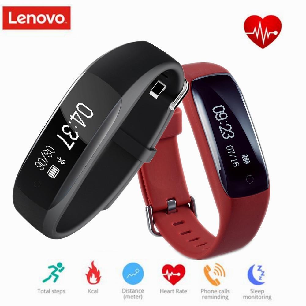 Original Lenovo HW01 Bluetooth4.2 Smart Wristband Heart ...
