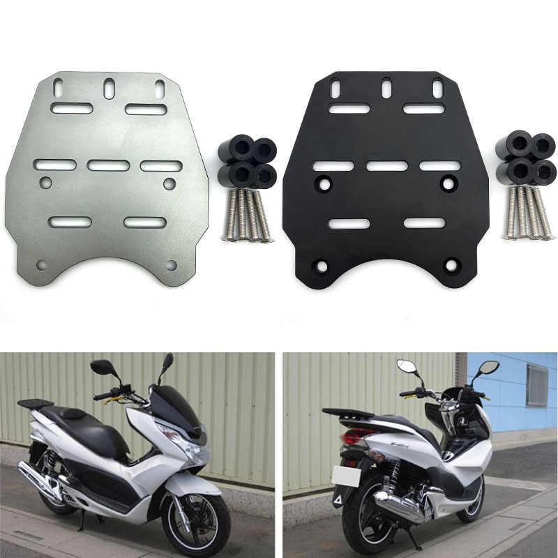 Bigking Rear Luggage Rack,CNC Aluminum Alloy Motorcycle Rear Luggage Rack Holder Shelf for PCX 125 150 2014-2019