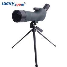 Luckyzoom Качество Монокуляр 20-60×60 Подзорные трубы Для Наблюдения За Птицами Пейзаж Просмотра Птицами Штатив Телескопа Бесплатная Доставка