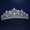 Wedding Bridal Bridesmaid Flower Girls Crystal tiara crown Hairwear