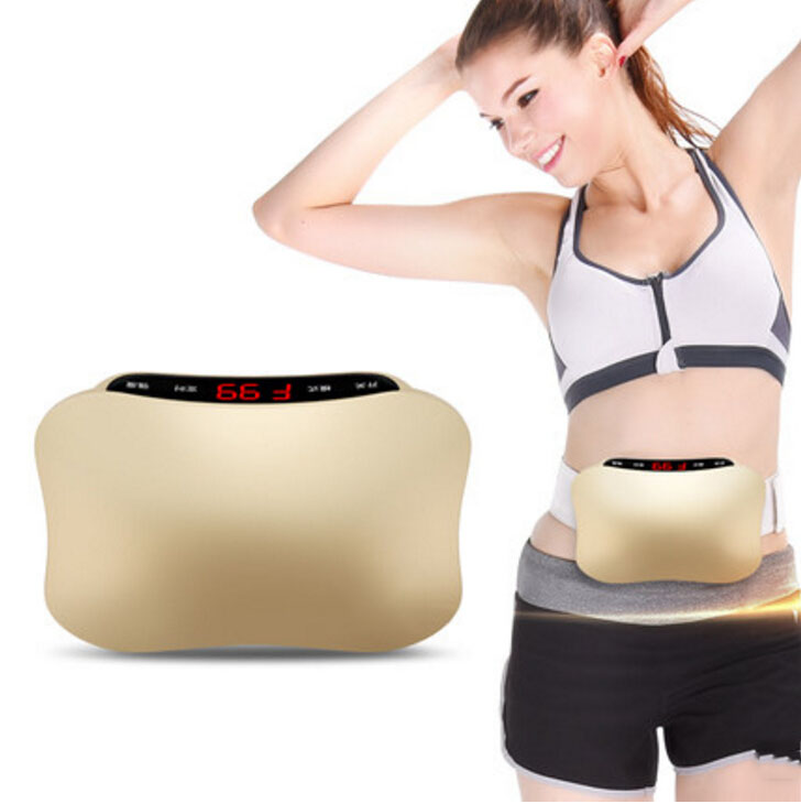 The lazy man power plate slimming belt Thin belly artifact Shook the machine thin waist toning fitness equipment to lose weight 1005f fitness equipment ultrathin body massager power board exercise power plate for slimming blood circulaation machine 220v