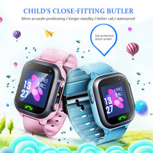GPS Child Smart Watch Phone Position Children Watch 1.44 inch Color Touch Screen WIFI SOS Smart Baby Watch Support SIM