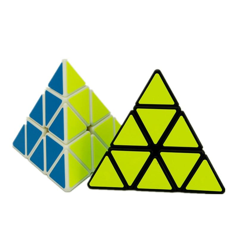 YJ Yongjun Strange-shaped Pyraminx Magic Cube Professional Sticker Puzzle Cube Speed Magico cubo Puzzle Educational Toys
