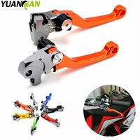 Motorcycle CNC Pivot Foldable Clutch Brake Lever For KTM EXC SXF XCW SXR EXCR XCF XC