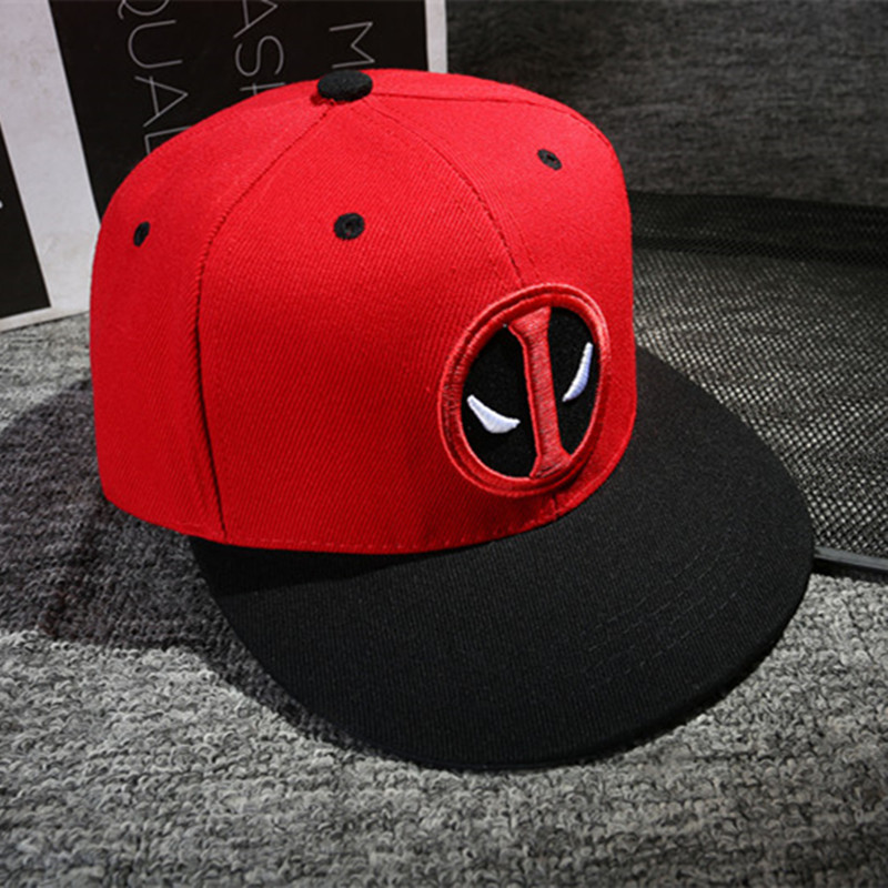 8baade2e37b051 Aliexpress.com : Buy 2018 Fashion Unisex Deadpool Embroidery Baseball Caps  Men Women Funny Marvel Hat Adjustable Snapback Casquette Hockey Caps from  ...