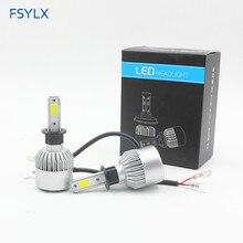 72W 16000lm H1 LED Head light Conversion kit car auto motor daytime driving fog DRL Lamp Headlamp Headlight
