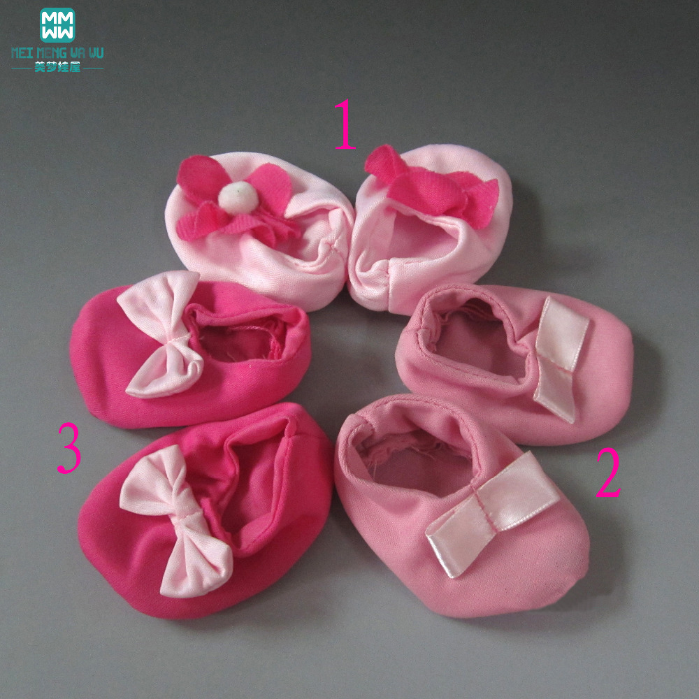 Doll Accessories Shoes For Doll 8cm*5cm Doll Baby Doll  Soft Soles Promotion Sale
