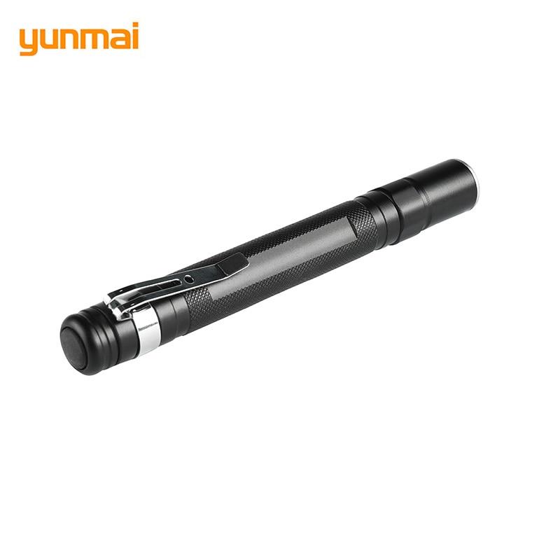 Mini Popular Penlight Waterproof LED Flashlight Torch Single Mode Adjustable High Lantern Portable XPE-Q5 Pocket Light Use AAA
