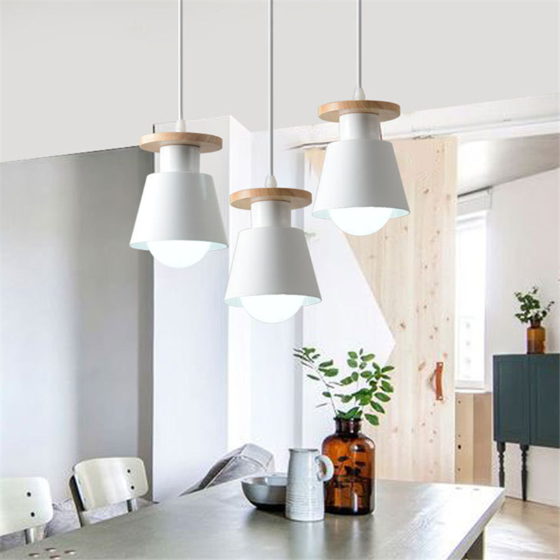 Nordic LED Pedant Lights Modern Hanging Light Chandelier Lamp Indoor Kitchen Dinning Room Cafe Store Home Decoration