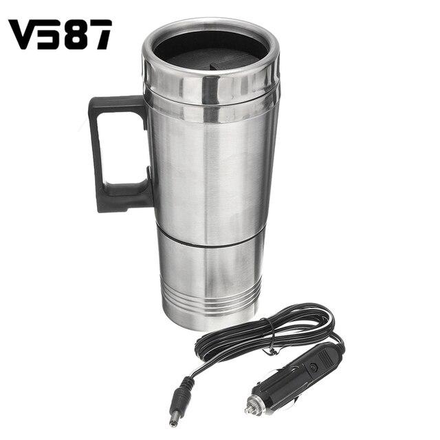 Car Water Soup Tea Coffee Baby Bottle Heater Boiler Car Heater Cup ...