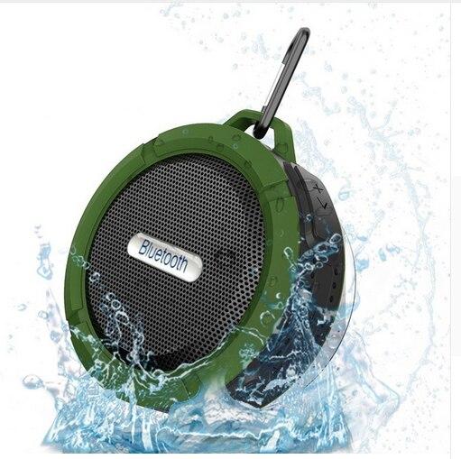 C6 Водонепроницаемый открытый bluetooth Динамик TF Беспроводной музыка громкоговоритель Портативный Колонки душ Велосипеды Динамик для велосипеда/Ванная комната