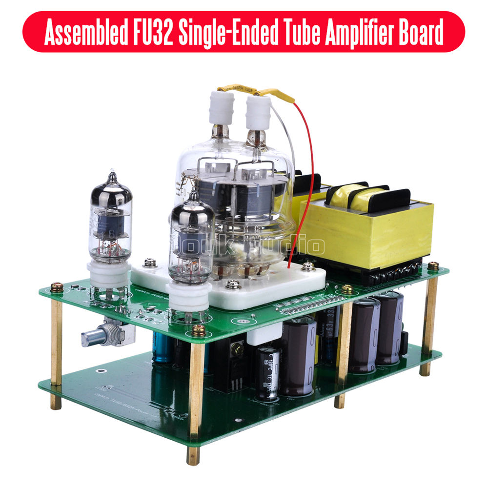 Douk Audio Latest APPJ Assembled FU32 Single-Ended Class A Tube Amplifier Audio Power Amp Board HiFi DIYer Free shipping music hall latest appj assembled fu32 tube amplifier audio single ended class a power amp board hifi diyer free shipping