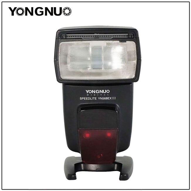 YONGNUO YN568EX III Wireless Flash Speedlite TTL Master Slave GN58 1 8000s High Speed Sync for