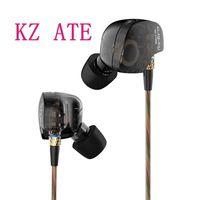 New Arrival Earphone Original KZ ATE Copper Driver Ear Hook HiFi In Ear Earphone Sport For