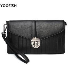 купить YOOFISH  Fashion Bags For Women Bag PU Leather Handbags Crossbody Bag Female Messenger Bags Mini Bolso Bao Bao Free Shipping по цене 1289.6 рублей