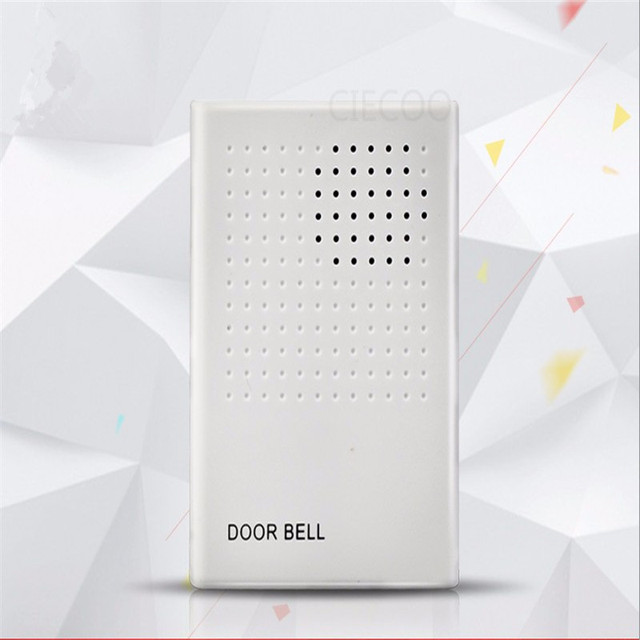 DC12V Ding Dong Musical Wired Doorbell Door Bell Chime for Home