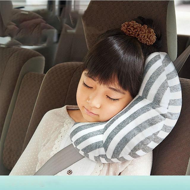Children Car Pillow Infant Car Pillow Kids Shoulder Neck protection Protection Car Pillow Cute Soft Baby safety ring pillow