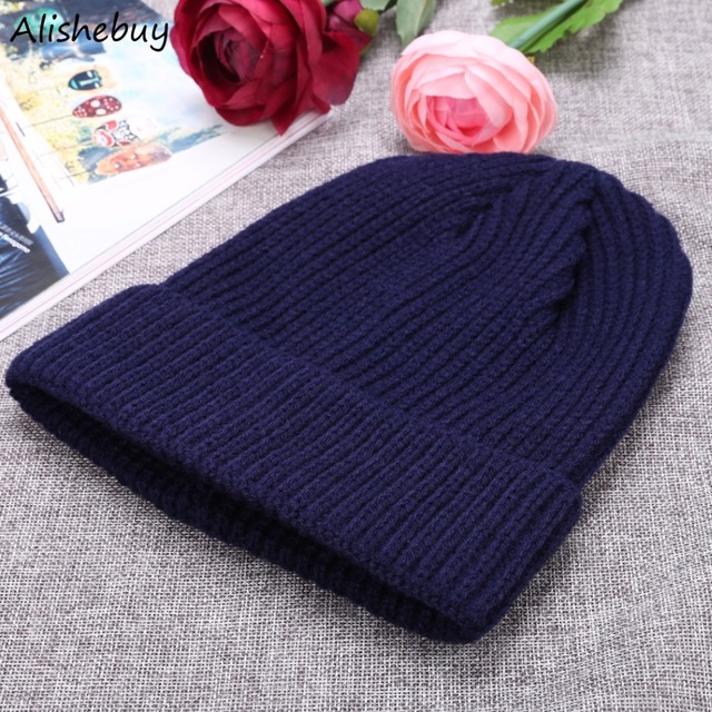 838afc888 New Unisex Hats Ribbed Cuffed Turn Up Retro Caps Short Outdoor Knit Head  Wear Fisherman Trawler Hat Head Warmer Colors SVQ030878-in Skullies &  Beanies ...