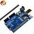 Оригинал DOIT Бесплатная Доставка высокое качество ООН R3 MEGA328P для Arduino UNO R3 БЕЗ КАБЕЛЯ USB