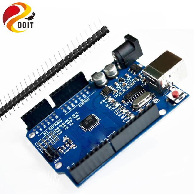 DOIT high quality UNO R3 MEGA328P for Arduino UNO R3 NO USB CABLE