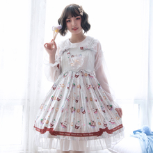 Sweet Lolita Victorian Dress Fairy Kei Casual Skirt Halloween Costumes For Women Fashion Classic Tea Party Outfit Plus Size classic victorian