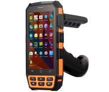 """الأصلي kcosit c5 ip65 وعرة الروبوت الهاتف للماء 5 """"محطة 1d 2d الباركود ماسحة ليزر قارئ محمول pda 8100 مللي أمبير"""